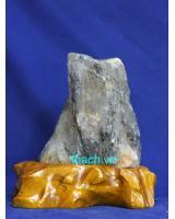 Khối đá thạch anh trắng phong thủy TR17