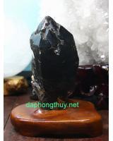 Khối thạch anh đen DK016