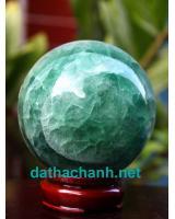 Quả cầu ngọc lục bảo fluorit DXC8.6a