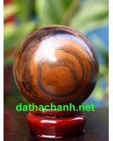 Quả cầu đá thạch anh mắt hổ DMH6.3