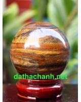 Quả cầu đá thạch anh mắt hổ DMH6.8a