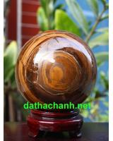 Quả cầu thạch anh mắt hổ DMH10.6