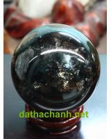 Quả cầu đá thạch anh đen DDC7.65