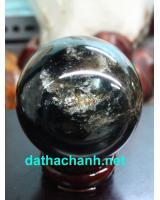 Quả cầu đá thạch anh đen DDC8.2
