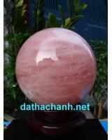 Quả cầu thạch anh hồng tuyệt đẹp DHC18.5