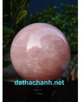 Quả cầu thạch anh hồng DHC12
