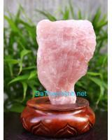 Khối đá thạch anh hồng DHK1