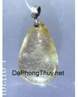 Mặt đá thạch anh tóc vàng bạch kim DTOM10