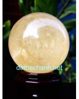 Quả cầu đá canxit vàng DVCC9.6