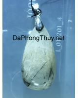 Mặt đá thạch anh tóc trắng DTOM15