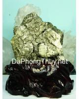 Khối đá vàng găm pyrit DVG1