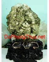 Khối đá vàng găm pyrit DVG3