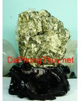 Khối đá vàng găm pyrit DVG5