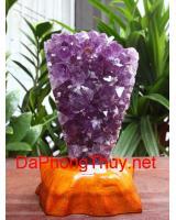 Khối đá quý thạch anh tím DT515.6