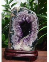 Động đá thạch anh tím DTD22a