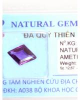Viên đá quý thạch anh tím DTM2.45