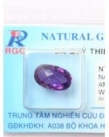 Viên đá quý thạch anh tím DTM4.48