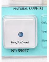 Đá sapphire xanh dương 4.5li DSPX0.41