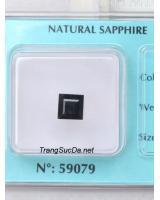 Đá quý sapphire đen DSPD2.25