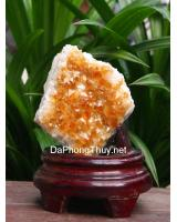 Khối đá thạch anh vàng DV012