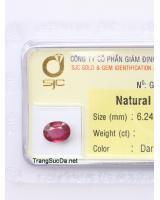 đá garnet ngọc hồng lựu DGARNET1.58