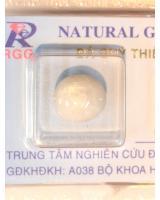 Viên đá sapphire trắng có sao DSPTS8.68