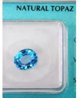 Viên đá quý topaz xanh DPAZ2.48