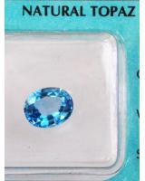 Viên đá quý topaz xanh DPAZ003.01
