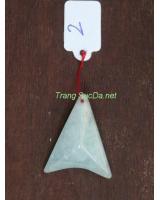 Mặt dây chuyền đá aquamarine daqua02