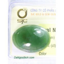Viên đá ngọc bích nephrite ANBKD27.4