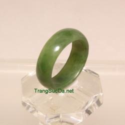 Nhẫn đá quý ngọc bích size19 ANBN32