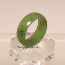 Nhẫn đá quý ngọc bích size19 ANBN34