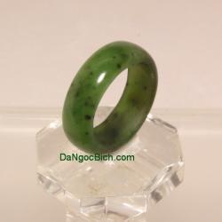 Nhẫn đá quý ngọc bích size17.5 ANBN24
