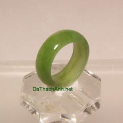 Nhẫn đá quý ngọc bích size17 ANBN31