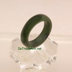Nhẫn đá quý ngọc bích size17 ANBN28