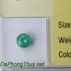 Viên đá emerald ngọc lục bảo DNLB0.37