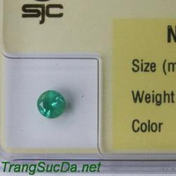 Viên đá emerald ngọc lục bảo DNLB0.36