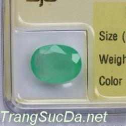 Viên đá emerald ngọc lục bảo DNLB1.87