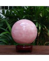 Quả cầu đá thạch anh hồng DHC11.5