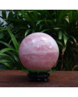 Quả cầu đá thạch anh hồng DHC10.8