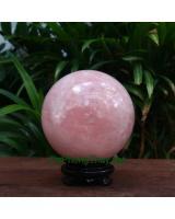 Quả cầu đá thạch anh hồng DHC10.5
