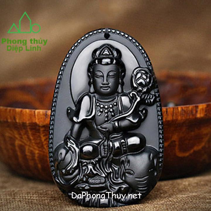 Phật Bản Mệnh Phổ Hiền Bồ Tát Núi Lửa Obsidian