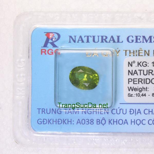 Viên đá peridot ngọc olivin PERI03.43