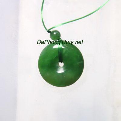 Ngọc bội đá ngọc bích nephrite DNBM49