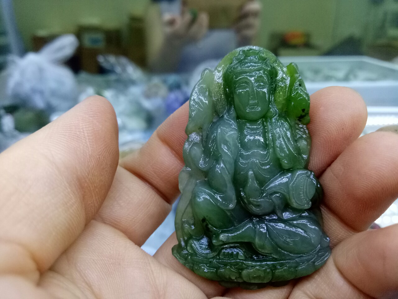 Phật Bản Mệnh Đại Thế Chí ngọc bích