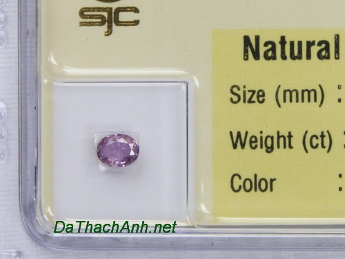 Viên đá sapphire tím SPT0.31