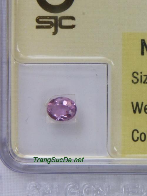 Viên đá sapphire tím SPT0.39