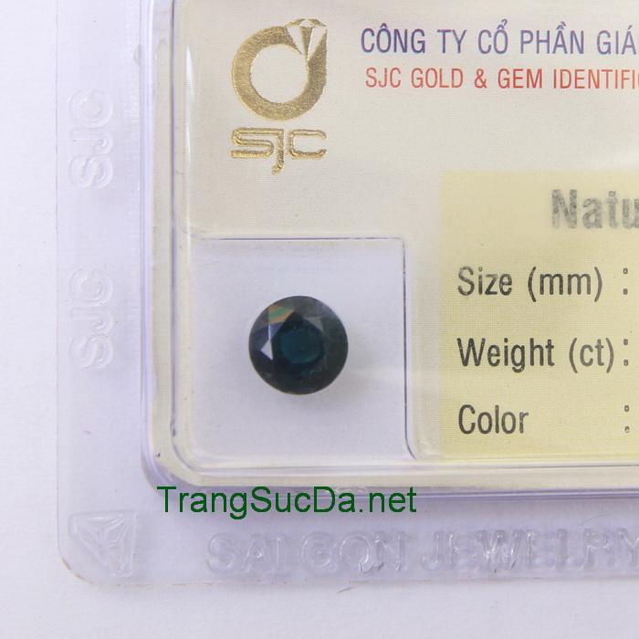 Viên đá sapphire xanh biển spx1.48