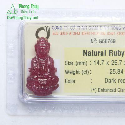 Quan Thế Âm Bồ Tát Ruby RBP25.34