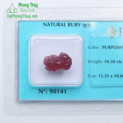 Tỳ Hưu Đá Ruby RBTH10.38